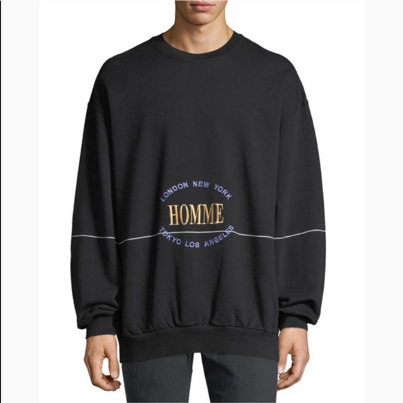 46b67b758304 Balenciaga Other - BALENCIAGA Homme City Runway Sweatshirt Sweater M